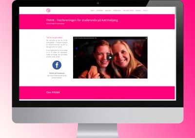 New site for PANIKfest.dk